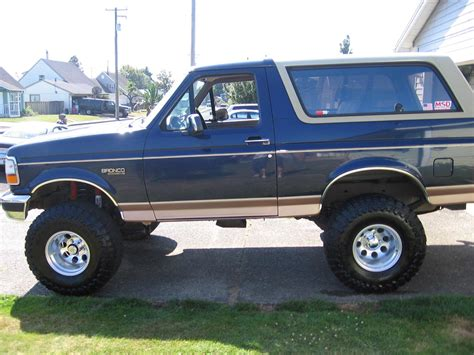 ford bronco 1995 1995 ford bronco information and photos zombiedrive