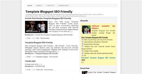 template seo simple template seo friendly simple dan cepat loading