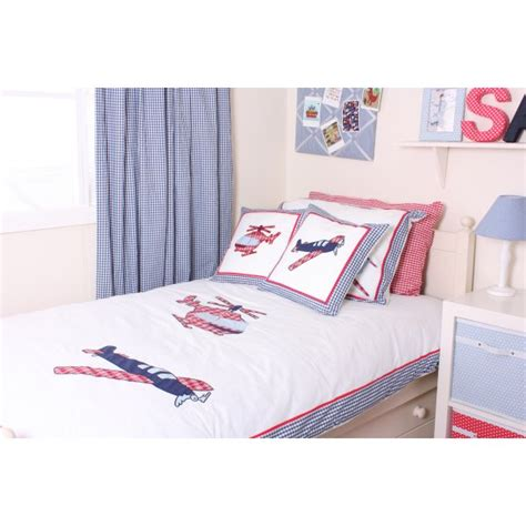 Helicopter Crib Bedding Babyface Aeroplane Helicopter Blue And White Filled 40cm X 40cm Cushion Babyface From Emporium