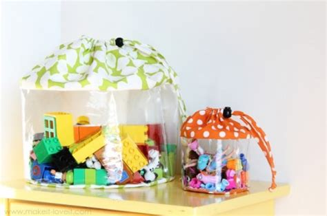 30 cool diy toy storage ideas shelterness picture of transparent pouches