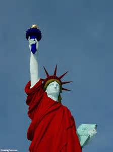 liberty colors statue of liberty in usa colors pictures freaking news