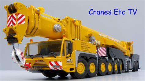 conad mobile conrad terex ac 1000 mobile crane steil by cranes etc tv