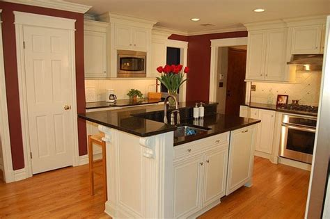 two level kitchen island two level island with sink seating for 5 by kitchens
