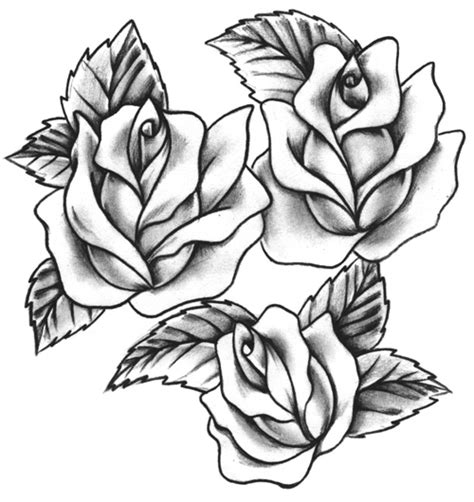 roses tattoo flash flash gallery ideatattoo