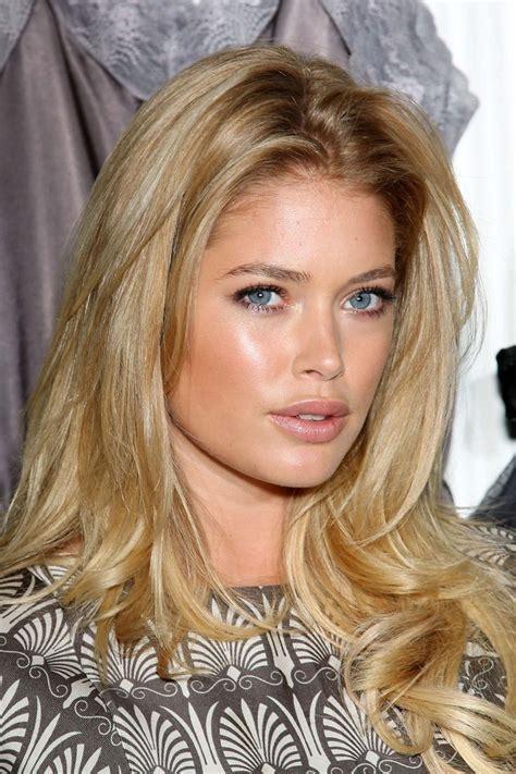 victoria secret model blonde hair hair color pinterest doutzen kroes hair and makeup hair beauty pinterest
