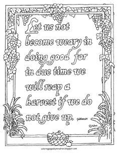 coloring pages for kids by mr adron matthew 724 the 1000 ideas about galatians 6 9 on pinterest god bible