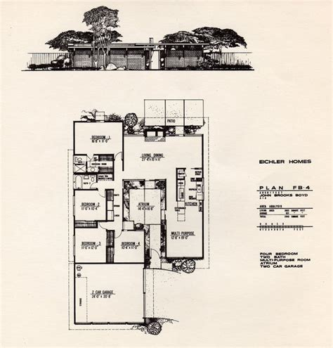 joseph eichler home plans 25 best ideas about joseph eichler on pinterest eichler