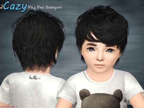sims 3 toddler hair cazy s per sempre hair toddler