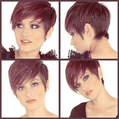 hair cut shorter in front and longer in back short in the back longer in the front pixie cut