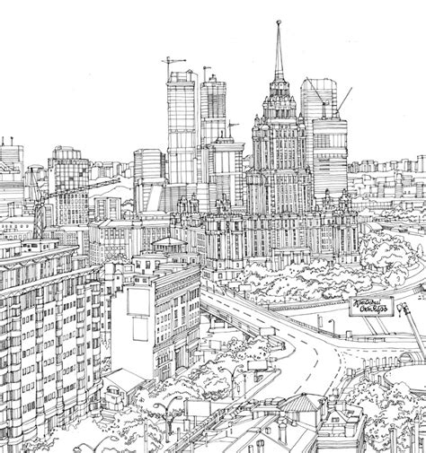 city building sketch www imgkid the image kid has it
