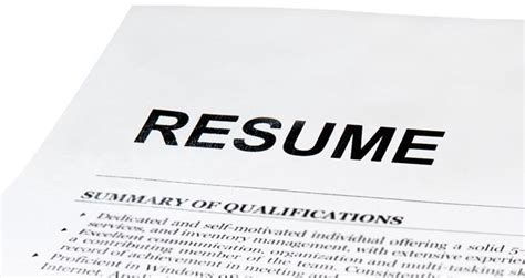 4 things that make your resume look unprofessional