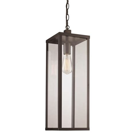 Bel Air Lighting by Bel Air Lighting Black Finish Outdoor 1 Light Hanging