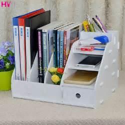 Diy Desk Storage Modern Fashion Office Desk Organizer Diy Wooden Storage Box Desktop Documents File Storage