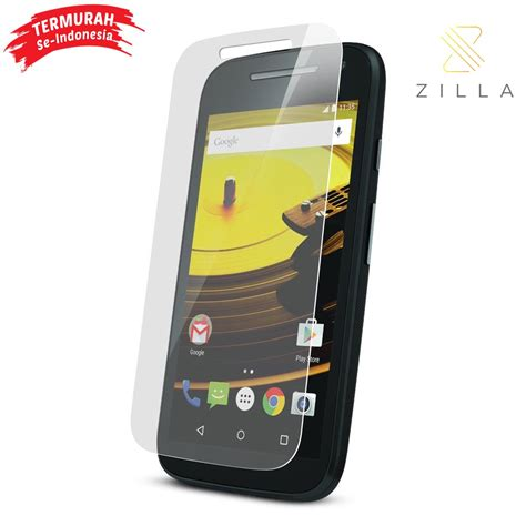 zilla 2 5d tempered glass curved edge 9h 0 33mm for moto e