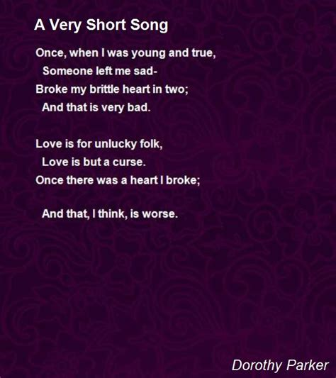 song poem the poetry and stories of dorothy www