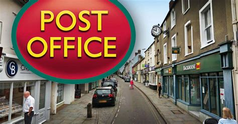 Glastonbury Post Office by Post Office Confirms That Its Shepton Mallet Branch Will