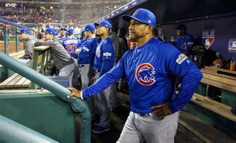 cubs bench cubs bench coach dave martinez to interview for nationals job repo