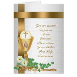 communion invitation stationery note card zazzle