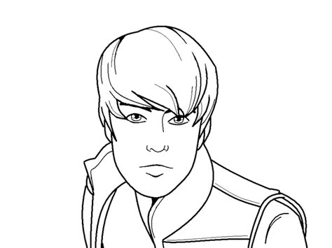 coloring page justin bieber free printable coloring pages of justin bieber coloring home