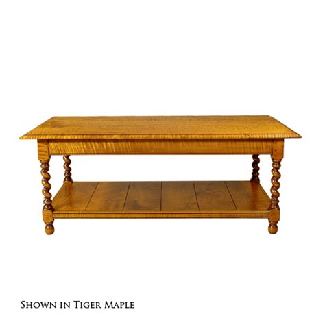 d r dimes barley twist coffee table occasional tables