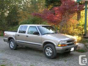2003 chevy s 10 4x4 for sale in abbotsford