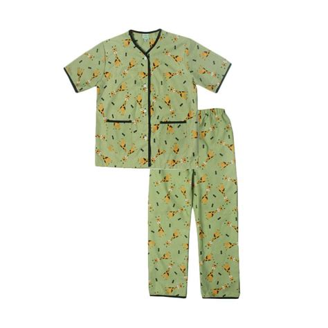 jual codefish cf011 giraffe piyama setelan baju tidur anak laki laki harga kualitas