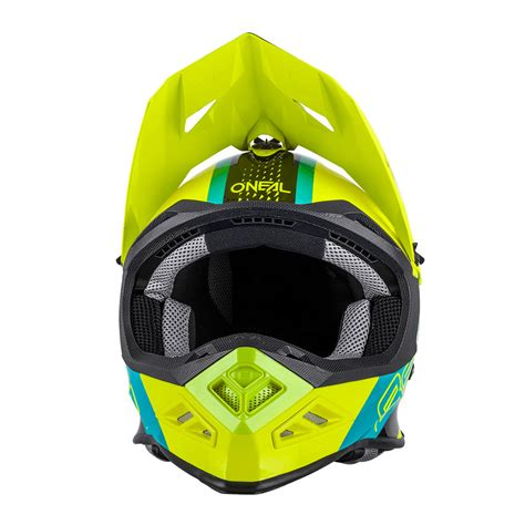 Helm Gm Nano Series o neal 8 series nano helm gelb blau motostorm
