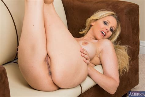 hot milf julia ann fucks in Her sexy red top at The Office Naughty America 16 Pictures