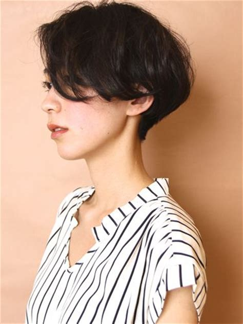 asian hair cutters in portland 後頭部を綺麗に作る大人フレンチショート ショート bobs the head and style