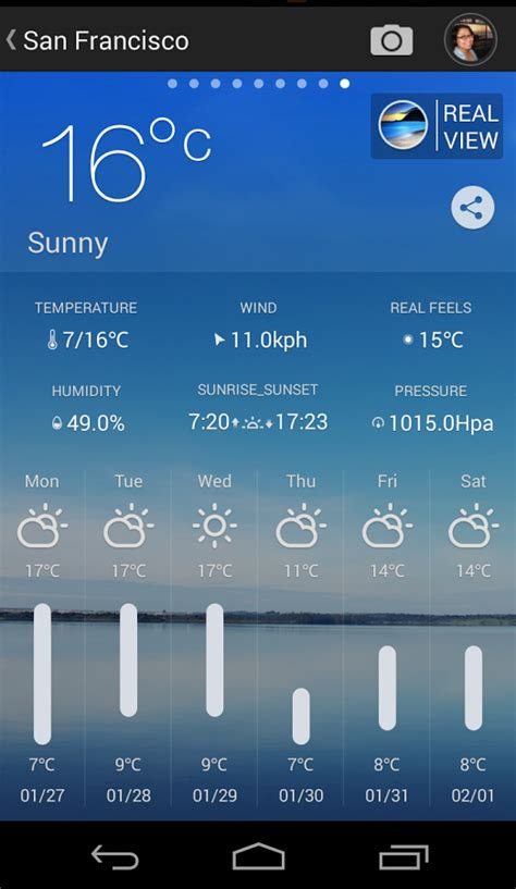 weather for android moweather check weather conditions around world ask your android