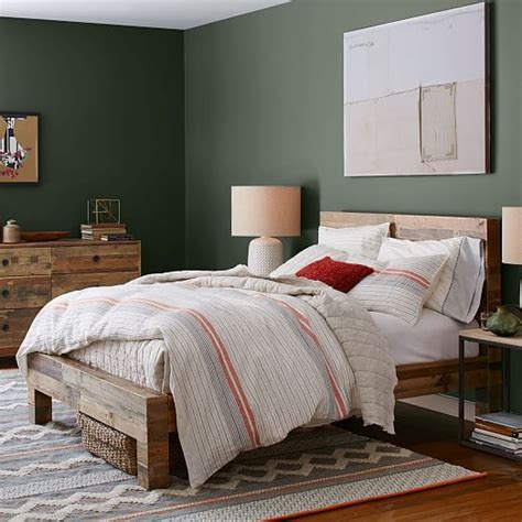 West Elm Reclaimed Wood Bed by Emmerson Reclaimed Wood Bed West Elm 1599