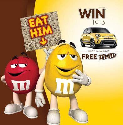 win a fiat 500 win a fiat 500l or free m m s free stuff finder canada