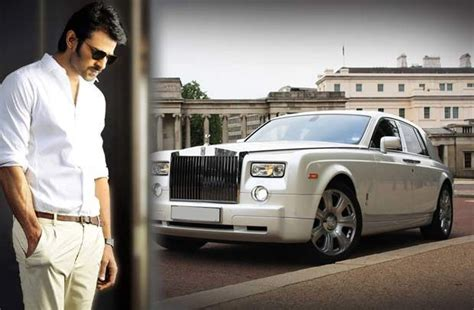 royal rolls car prabhas purchased new rolls royals car worth 8 cr trv news