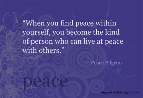 eat in peace to live in peace your handbook for vitality books peace within yourself quotes quotesgram