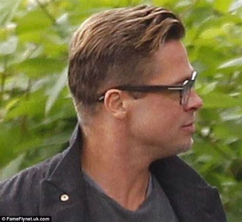 army haircut fury brad pitt finally debuts his new look after getting a