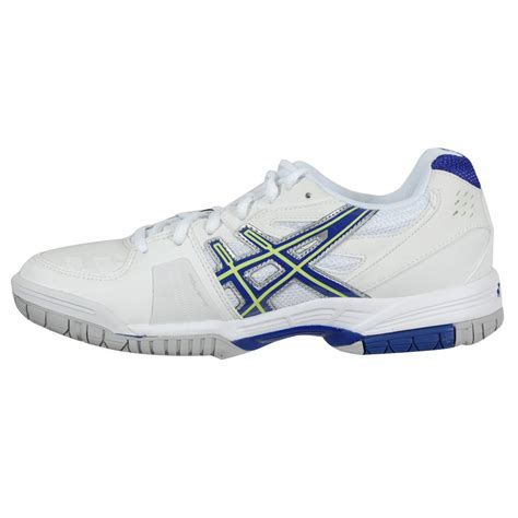 asics s gel 4 tennis shoes white