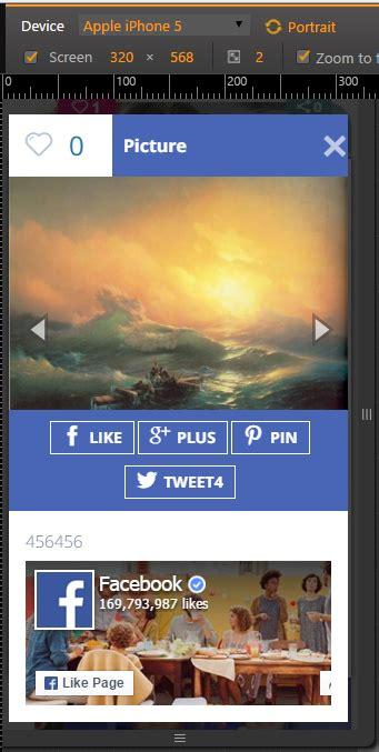 lightbox mobile lightbox inspired wp foto vote