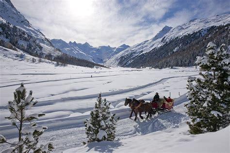 Val Roseg Carrozze Engadin Carrozze E Slitte Trainate Da Cavalli Nella Val Roseg