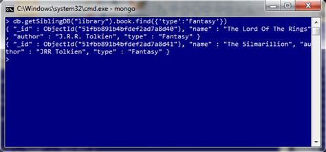 mongo console mongodb in 3 easy steps dzone database