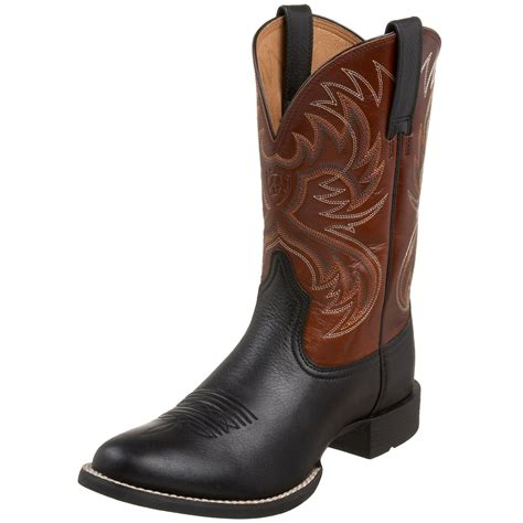 ariat heritage boots ariat mens heritage horseman western boot in brown for
