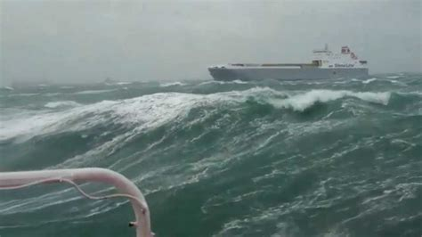 sw wind boat mv prudence sailing in the north sea during past sw
