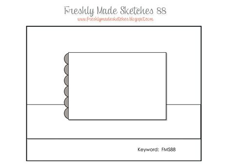 Sketch Card Template by Create With Seongsook One Sheet Template And