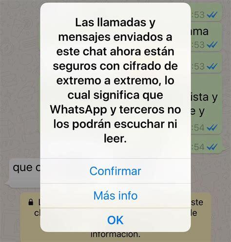 imagenes para whatsapp que se abren whatsapp ofrece comunicaci 243 n encriptada para m 225 s privacidad