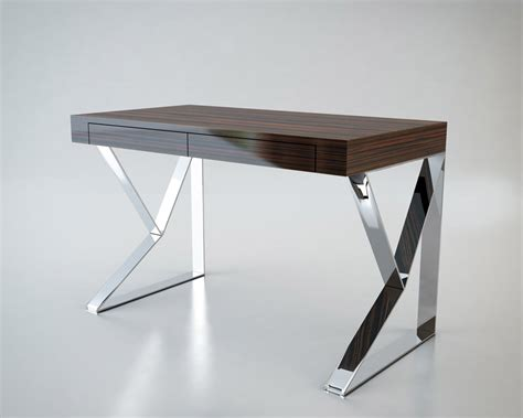 houston desk lacquer modern digs furniture