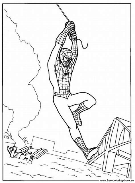 Coloring pages Spiderman - Page 2 - Printable Coloring