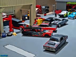 1:64 Hot Wheels Diecast: Wild Rides Garage   Another view