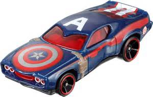 Captain America Truck Wheels Figure Insider 187 Check Out The New Hot Wheels