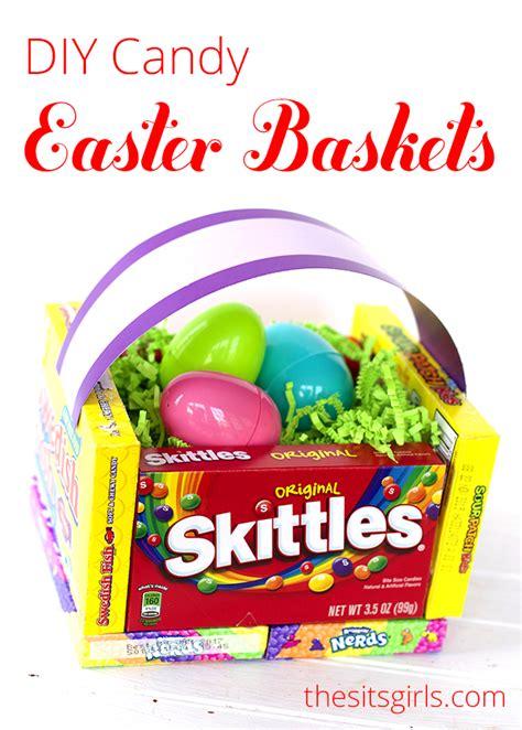 diy easter basket diy candy easter basket diy teacher appreciation basket
