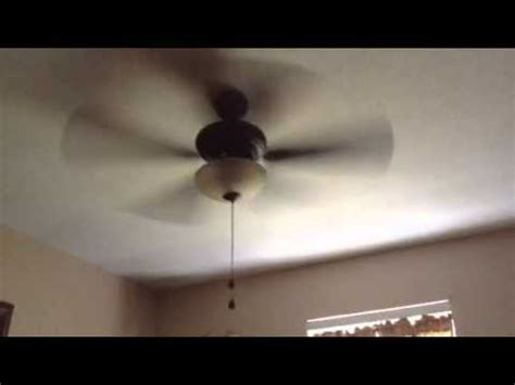 Ceiling Fan Only Works On High Speed by Testing The 44 Quot Harbor Cedar Hill Ceiling Fan Only