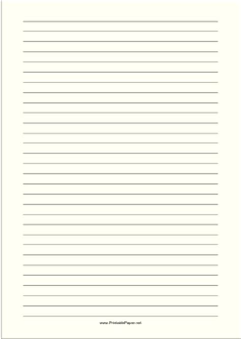 %name colored paper printable   Printable Lined Paper   Pale Yellow   Wide Black Lines   A4